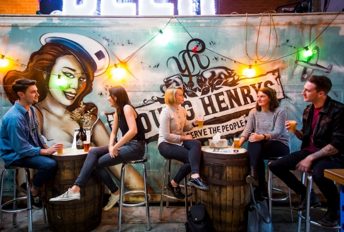 Young Henrys Brewery, Newtown, Sydney, New South Wales (c) Destination New South Wales