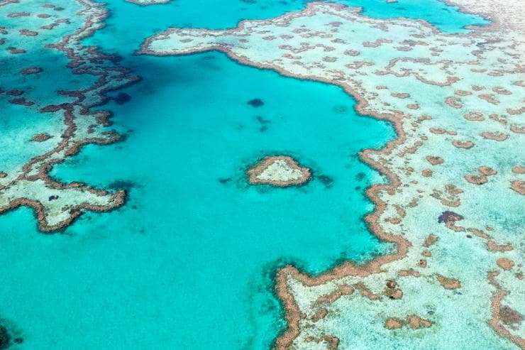 Heart Reef, Great Barrier Reef, Queensland © Tourism Australia