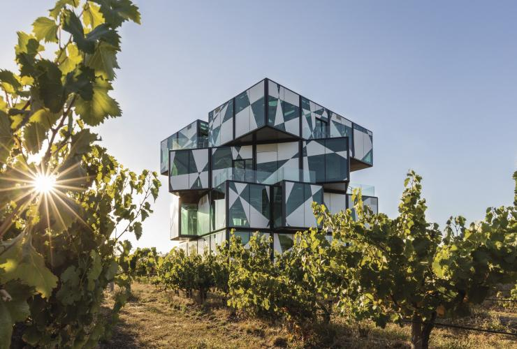 The d'Arenberg Cube, Osborn Road, McLaren Vale, Fleurieu Peninsula, South Australia © d'Arenberg Pty Ltd