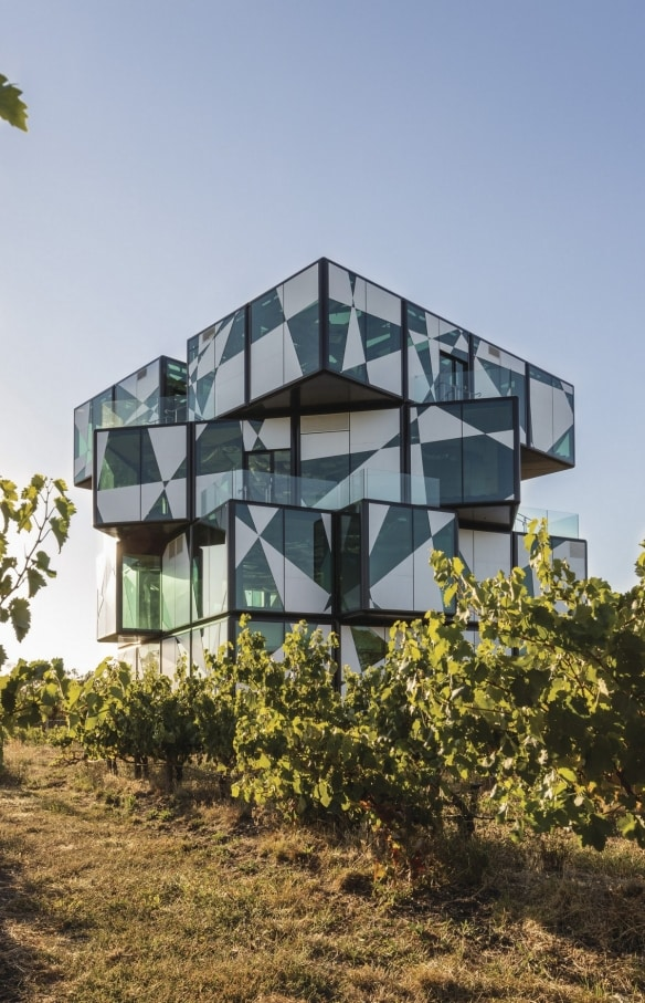 The d'Arenberg Cube, McLaren Vale, South Australia © d'Arenberg Pty Ltd