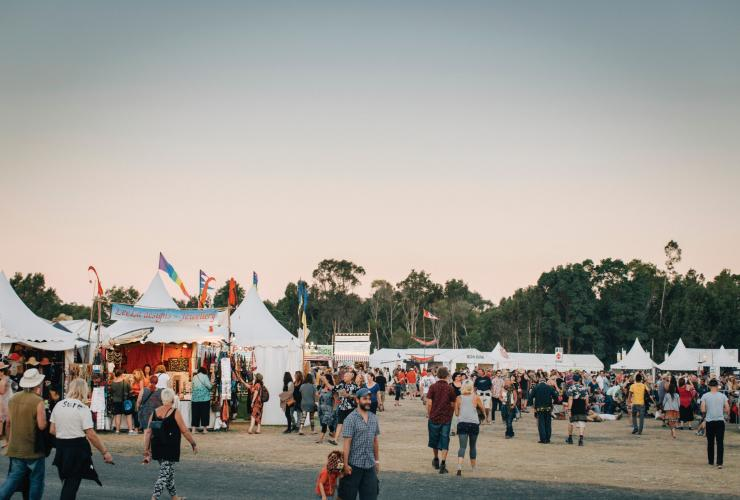 Bluesfest, Byron Bay, New South Wales © Tourism Australia
