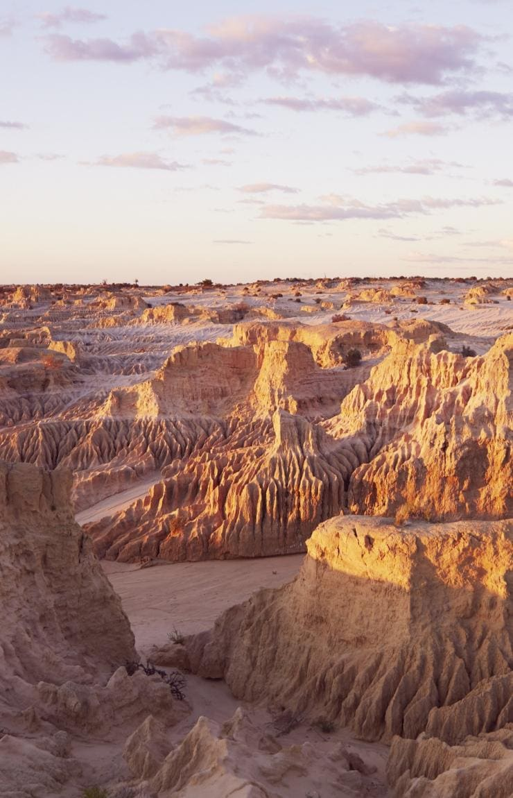 Mungo National Park al tramonto © Destination NSW