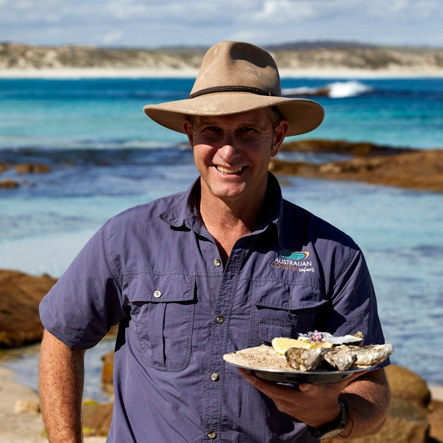 "David ""Lunch"" Doudle at work in South Australia © Tourism Australia"