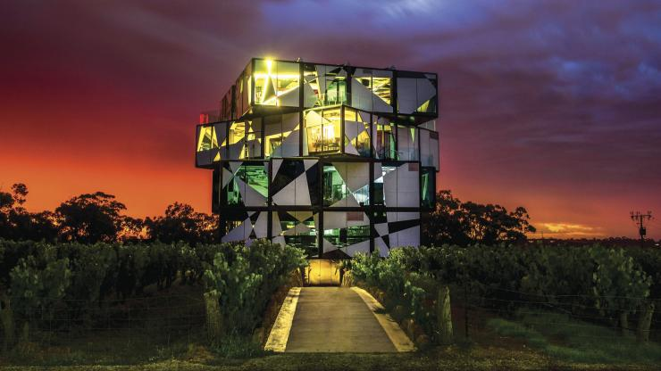 D'Arenberg Cube, McLaren Vale, South Australia © Marc Mandica, South Australian Tourism Commission
