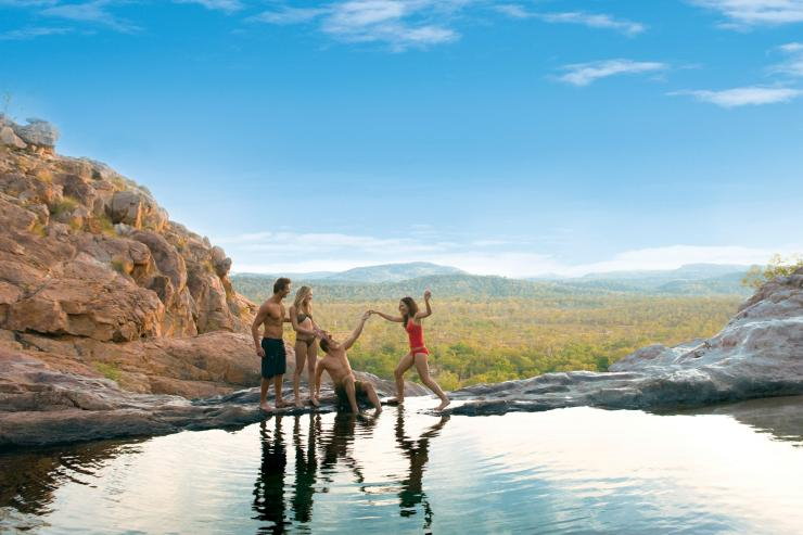 Gunlom Falls, Kakadu National Park, Northern Territory © Tourism NT