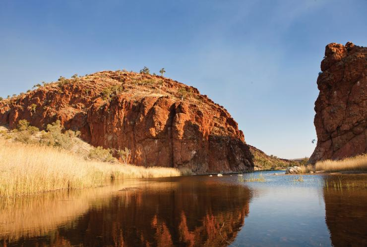 Glen Helen Gorge, West MacDonnell Ranges, Northern Territory © Tourism NT