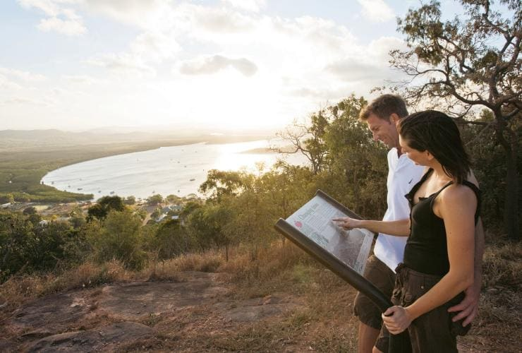 Grassy Hill Lookout, Cooktown, Queensland © Tourism and Events Queensland