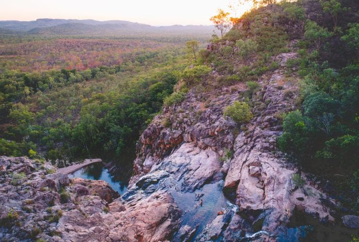 Gunlom Falls, Kakadu National Park, Northern Territory © Tourism Northern Territory, Salty Wings