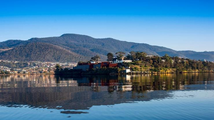 Museum of Old and New Art (Mona), Hobart, Tasmania © Rob Burnett, Tourism Tasmania