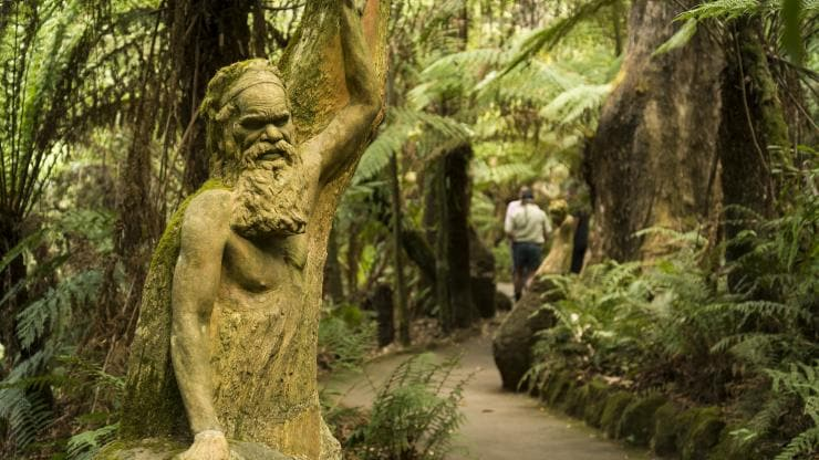 William Ricketts Sanctuary, Olinda, Victoria © Visit Victoria