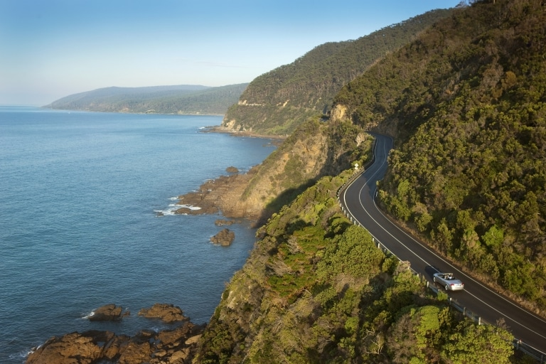 The Great Ocean Road, Lorne, Victoria © Visit Victoria