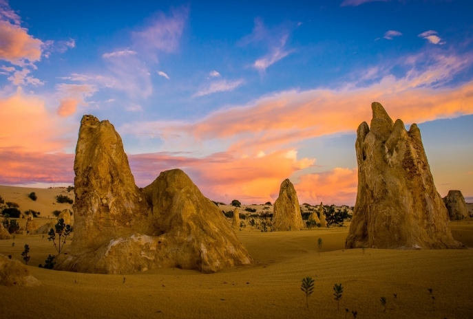 The Pinnacles, Nambung National Park, Western Australia © Richard Rossiter