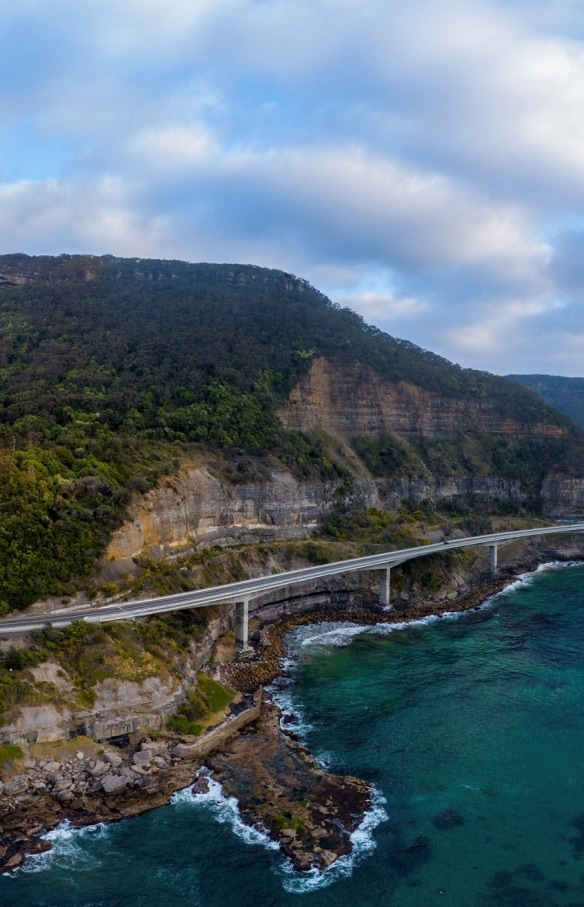 Sea Cliff Bridge, Clifton, New South Wales© Destination NSW