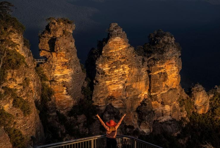 The Three Sisters, Blue Mountains, New South Wales © Kristen Greaves, Destination New South Wales