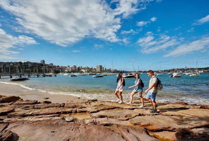 Passeggiata da Spit a Manly, Sydney, New South Wales © Destination New South Wales