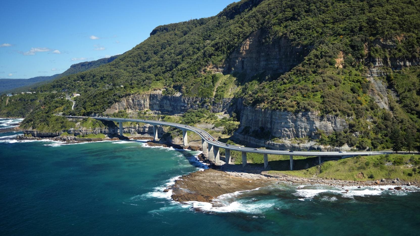 Sea Cliff Bridge, South Coast, New South Wales © Destination NSW