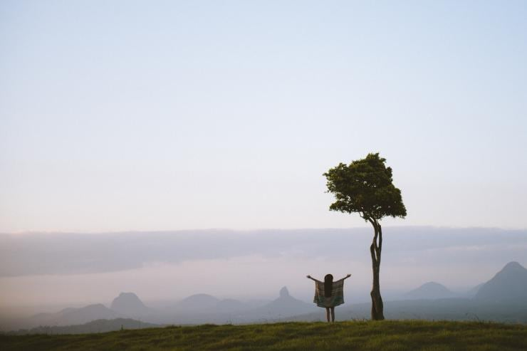 One Tree Hill, Maleny, Sunshine Coast, Queensland © Tourism and Events Queensland