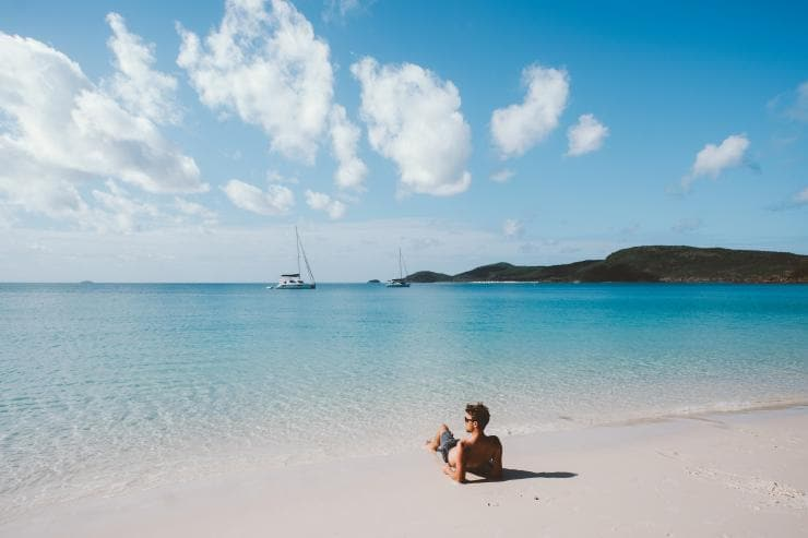 Whitehaven Beach, Whitsunday, Queensland © Jason Hill, Tourism and Events Queensland