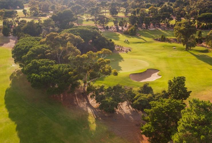 オーストラリアの素晴らしいゴルフコース