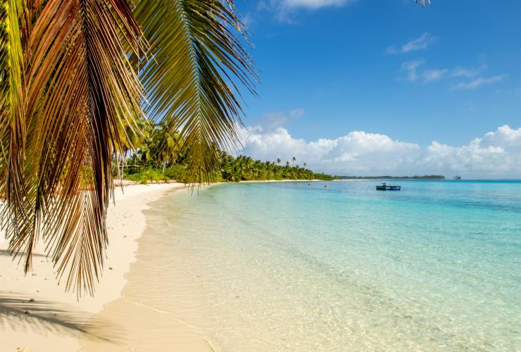 ココス(キーリング)諸島、ウェスト島 © Rik Soderlund, Cocos Keeling Islands Tourism Association