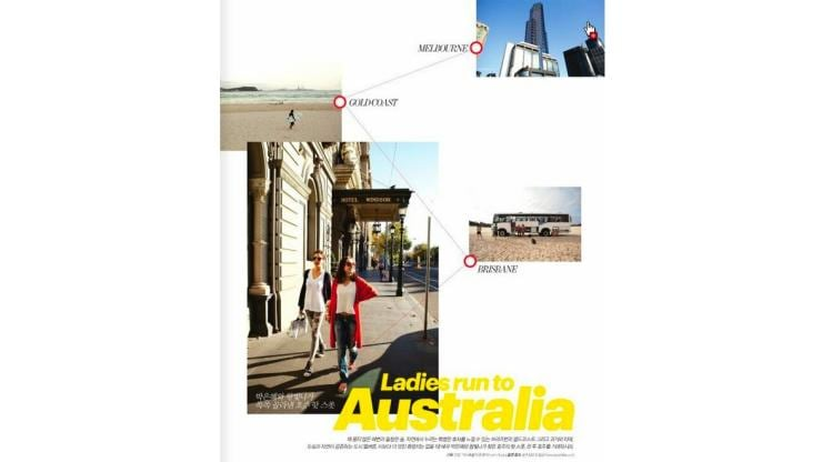 Ladies run to Australia