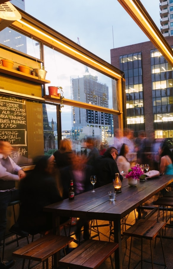 維多利亞州(VIC)墨爾本(Melbourne)的Bomba Tapas Bar and Rooftop©Roberto Seba