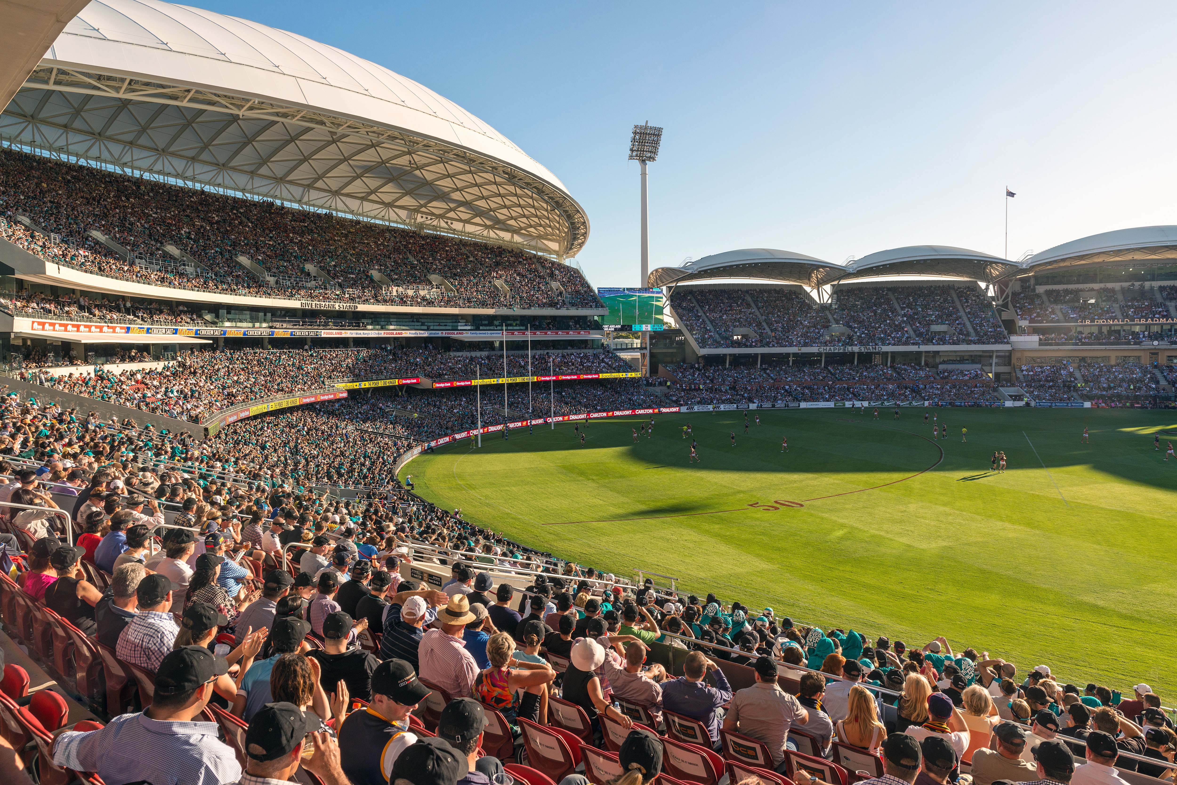 Adelaide Oval, Australie méridionale