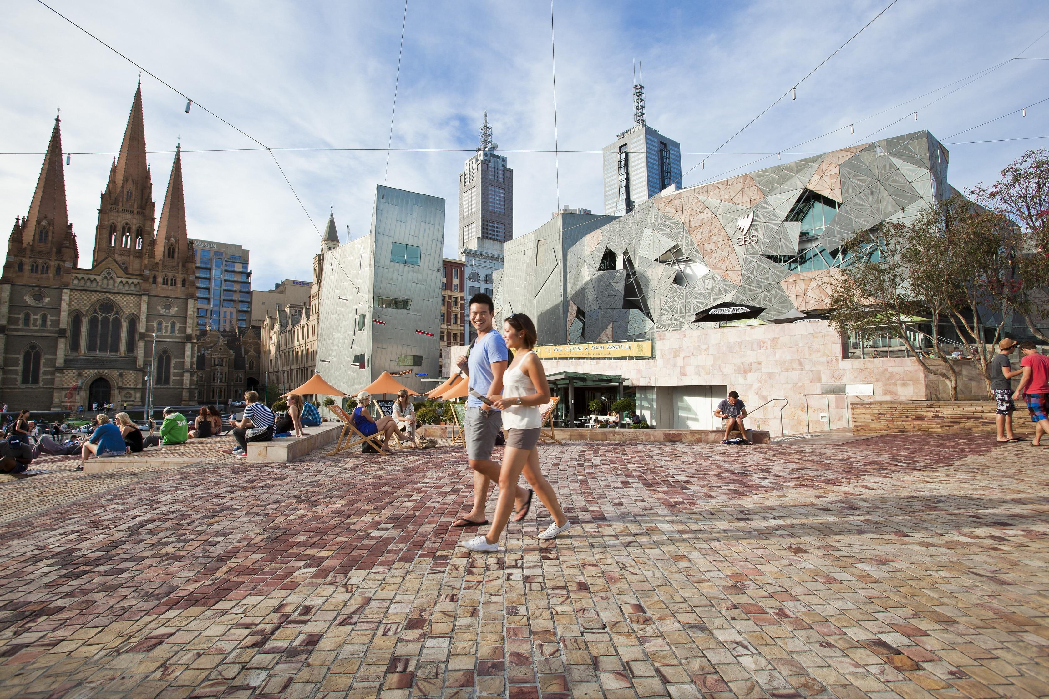 Federation Square, Victoria
