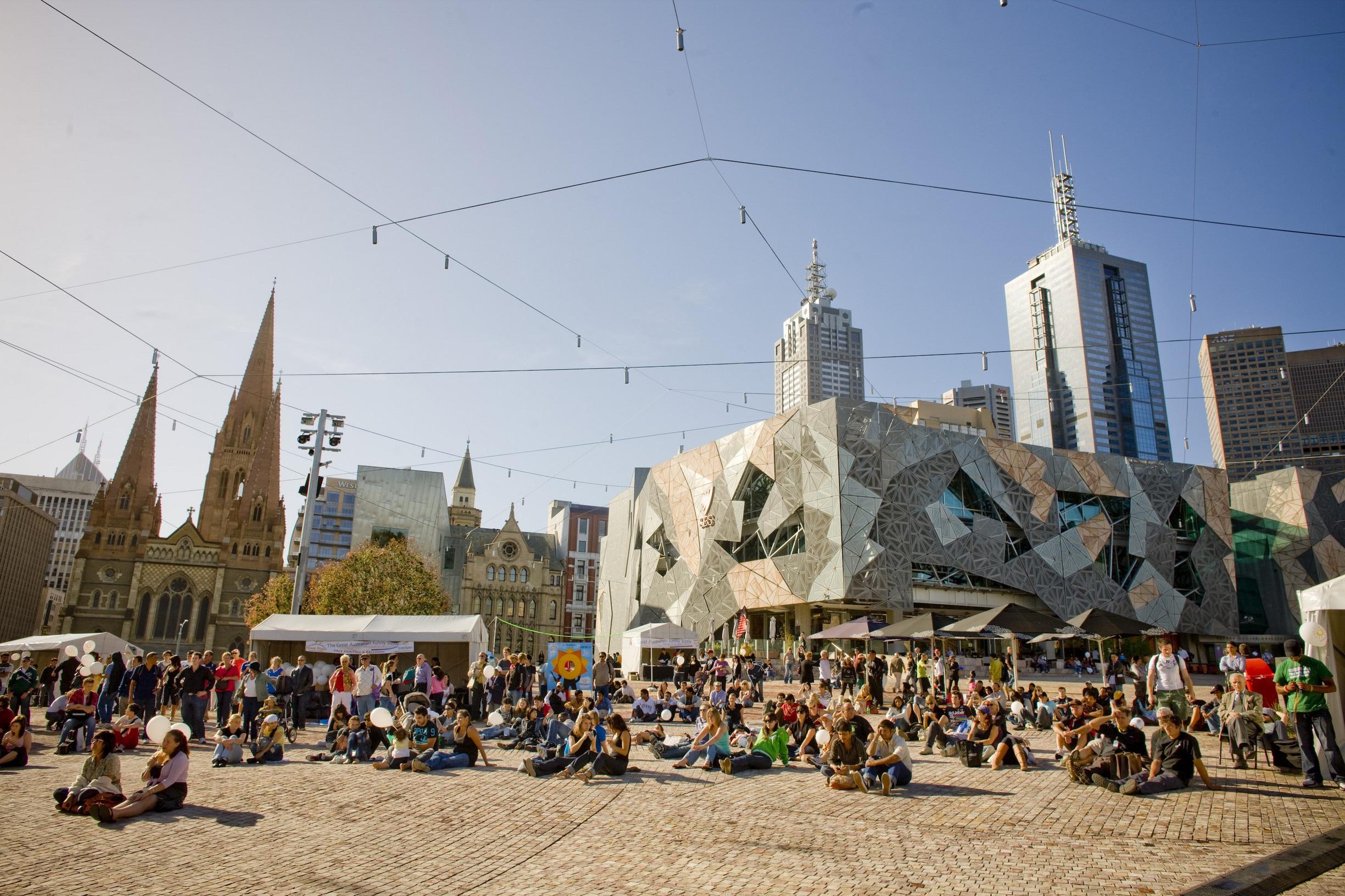 Das Wetter in Melbourne