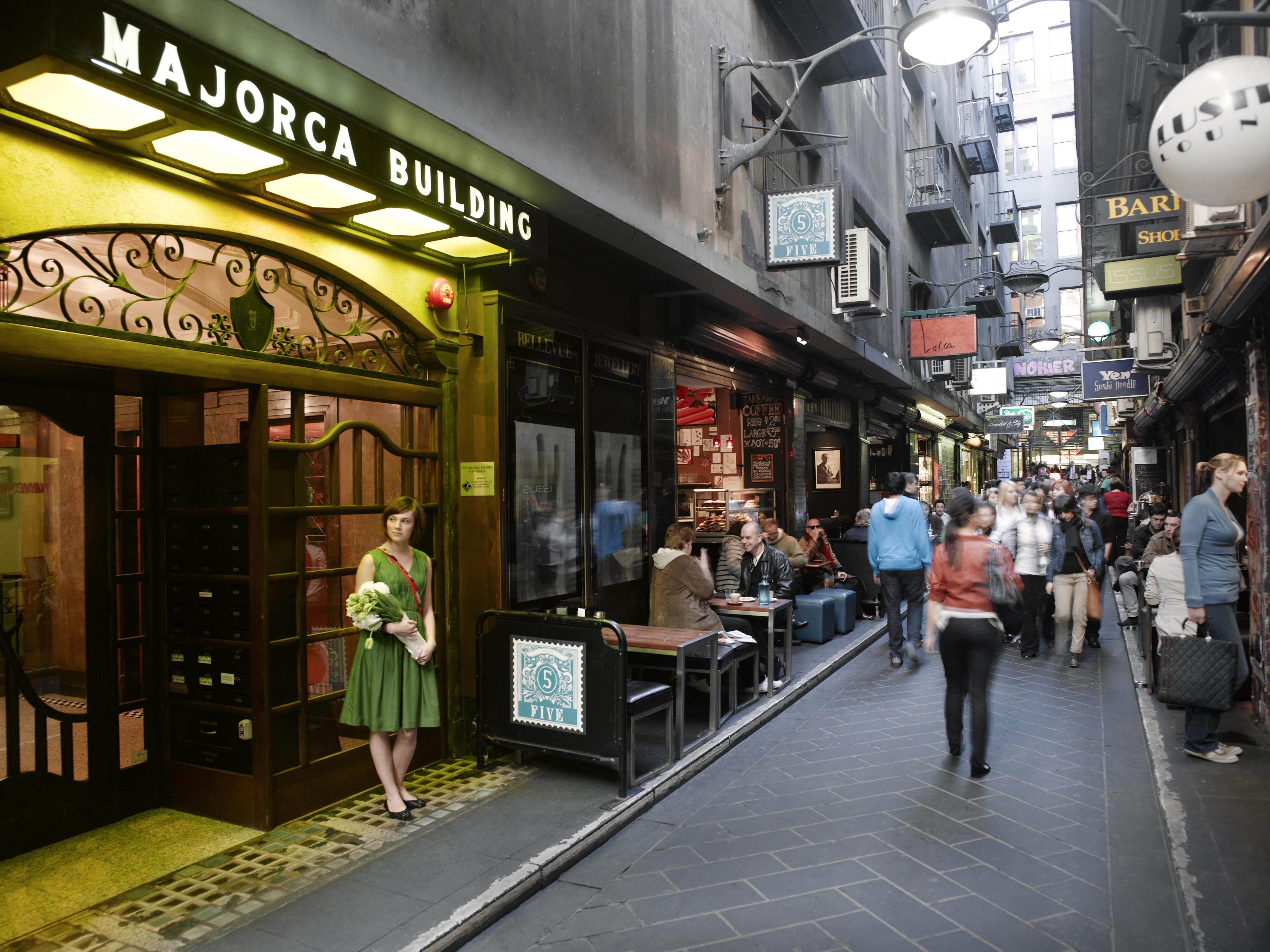 Vielas e becos ocultos de Melbourne