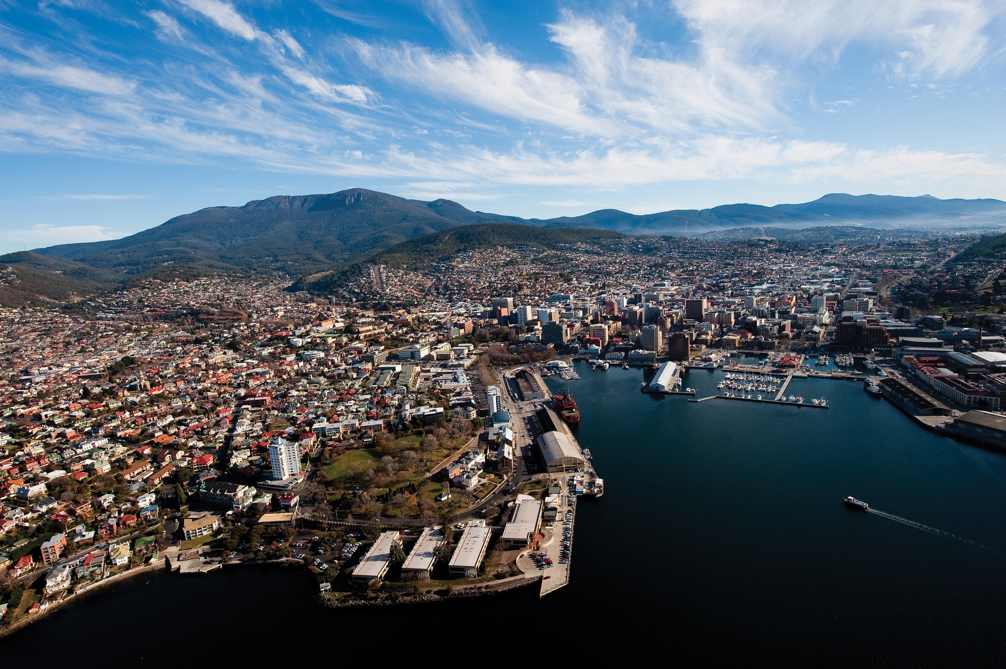 Clima em Hobart