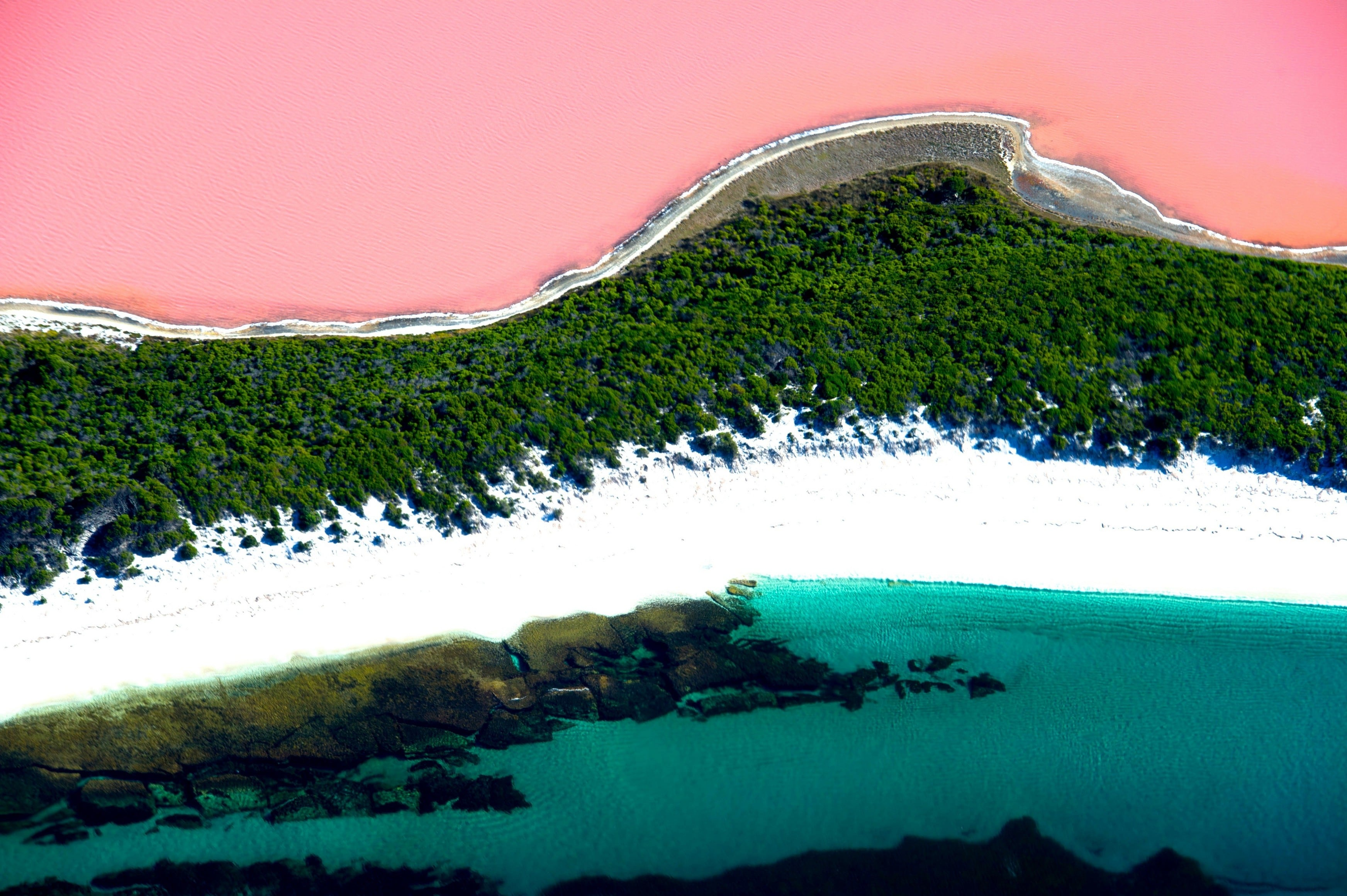핑크 호수, 서호주