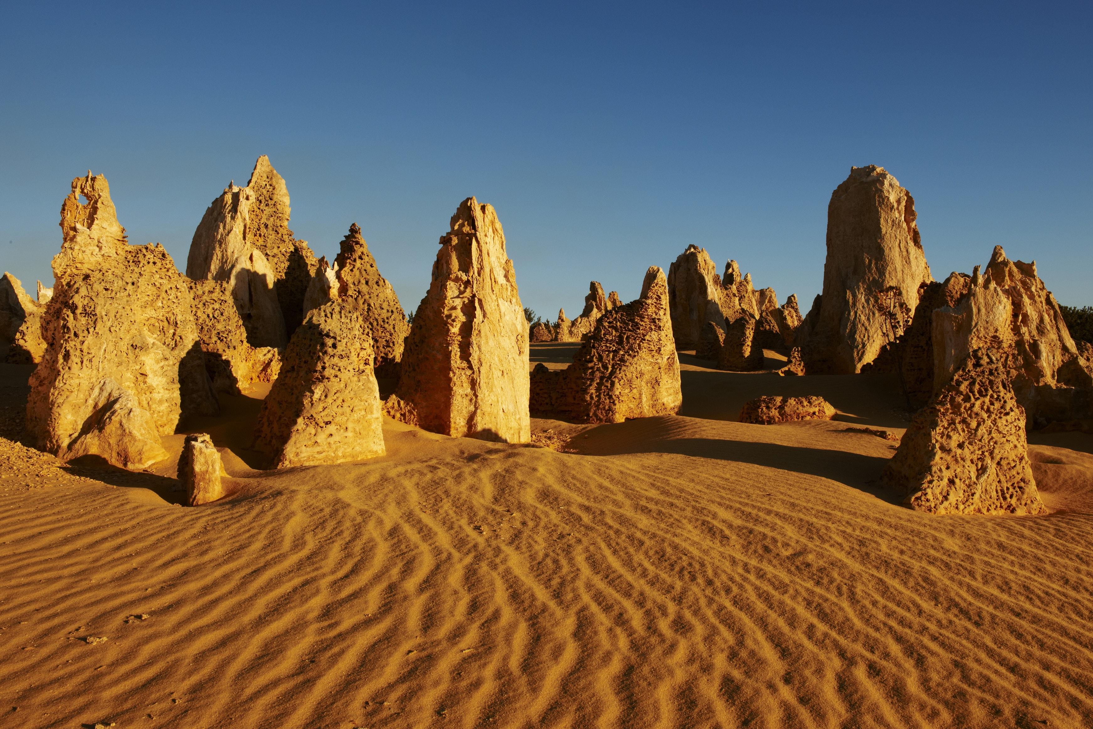 The Pinnacles, Parque Nacional de Nambung, Oeste da Austrália