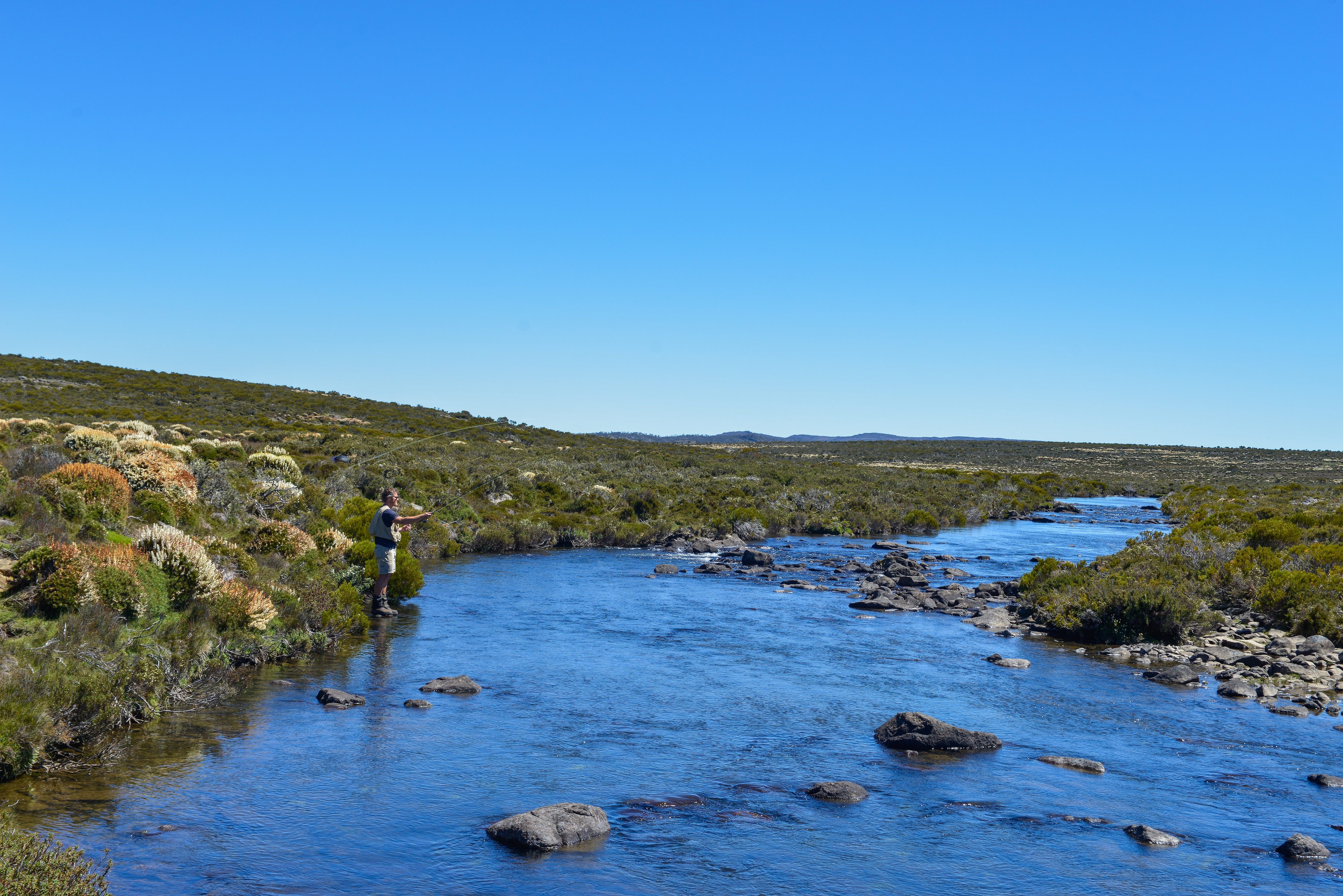 Fly Fishing In Tasmania S Central Highlands Tourism Australia