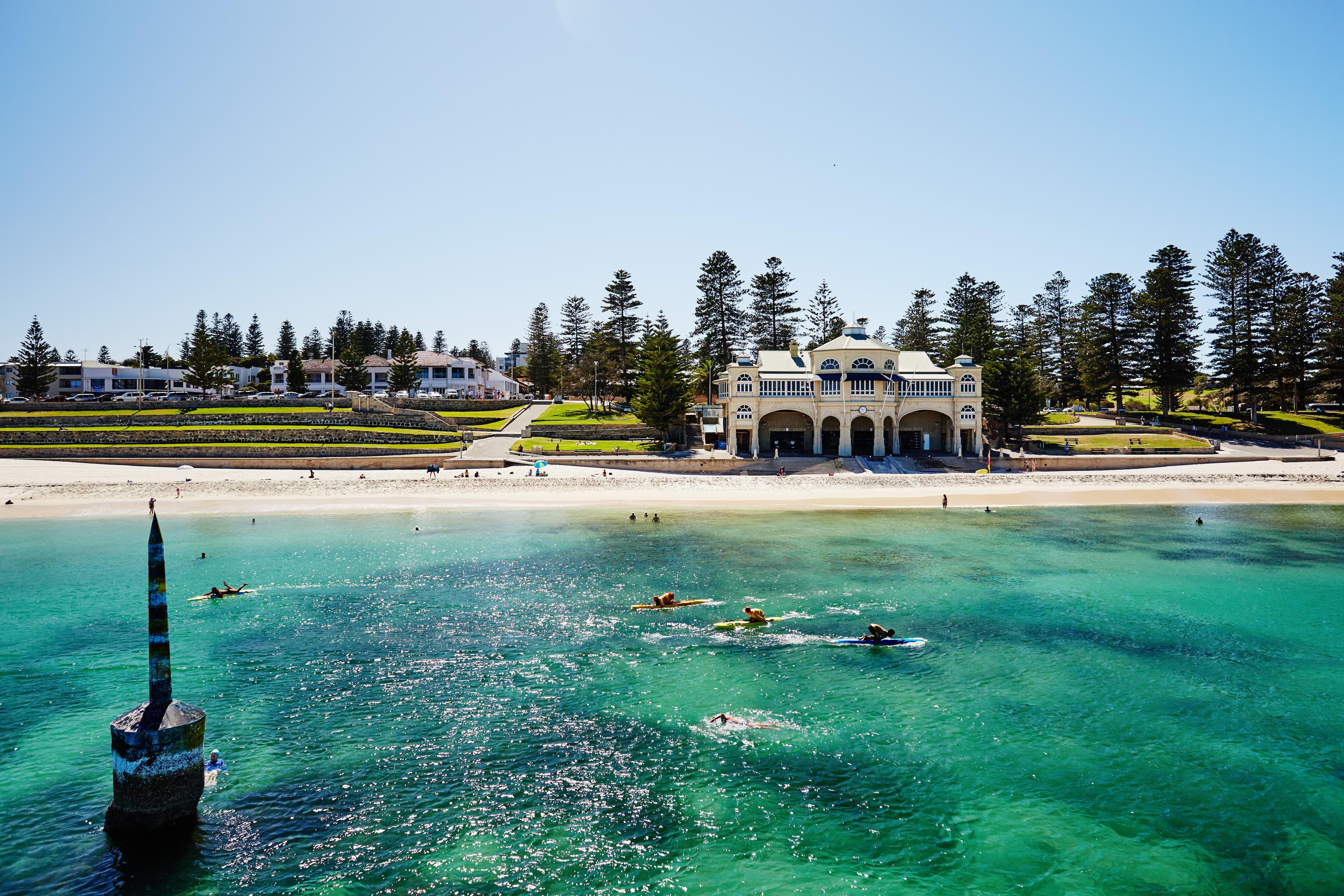 reiseführer für cottesloe beach, perth – tourism australia