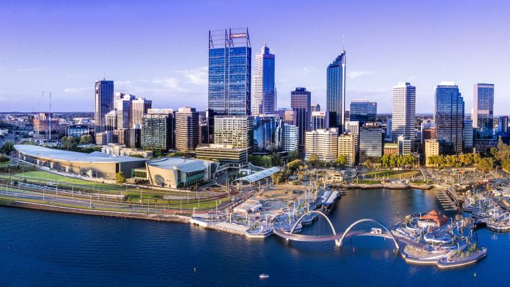 Perth City, Perth, Westaustralien © Tourism WA