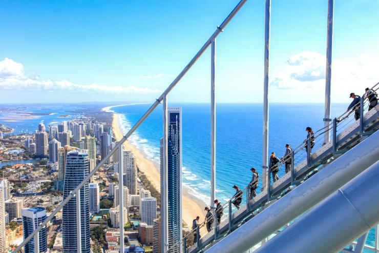SkyPoint Climb, Gold Coast, Queensland © Tourism and Events Queensland