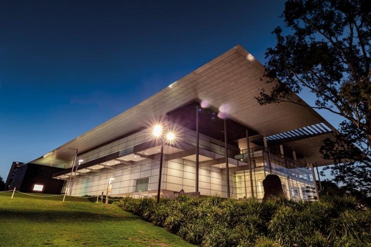 Gallery of Modern Art (GOMA) building in Brisbane © Tourism and Events Queensland