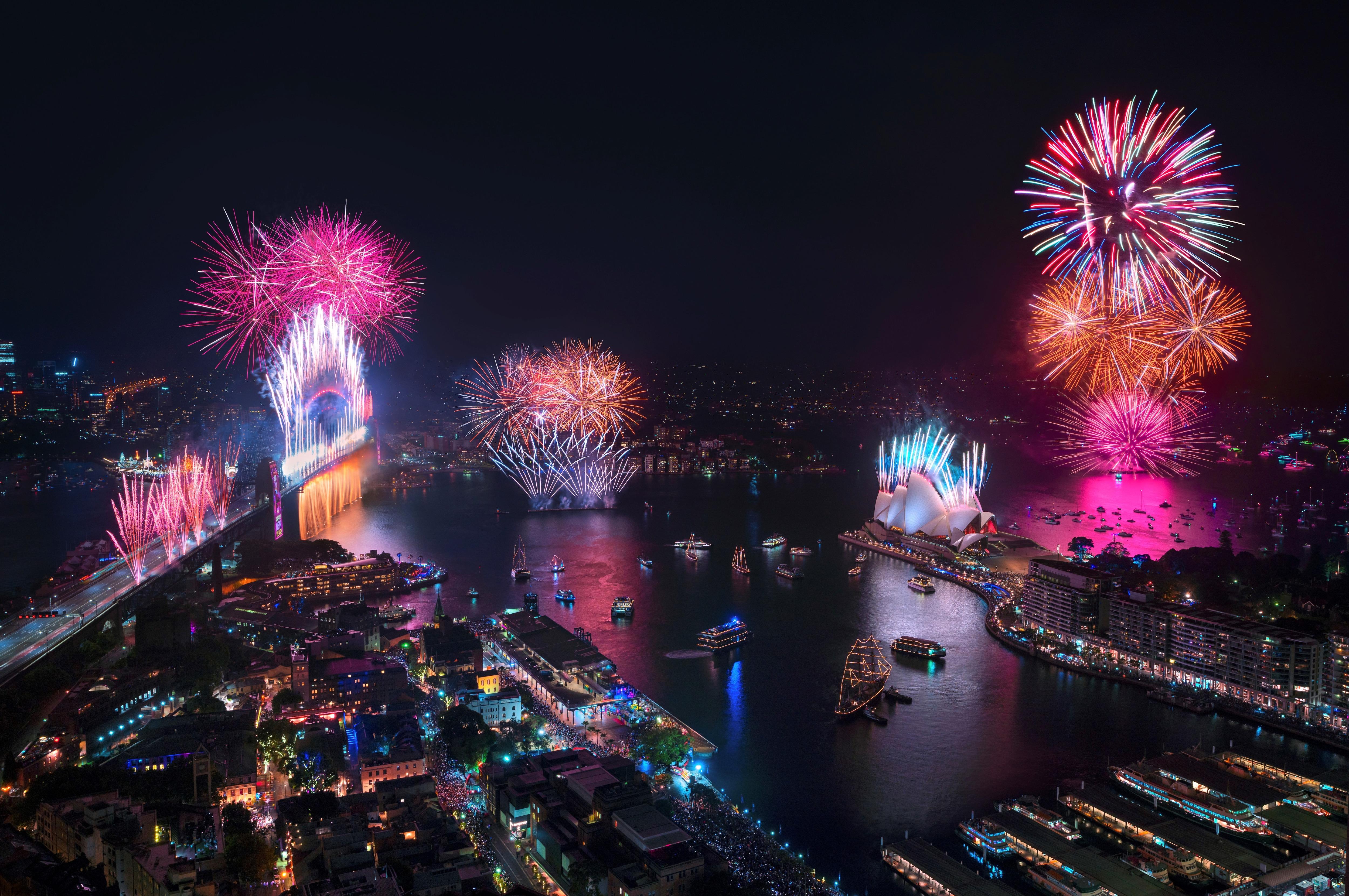 New Year S Eve Sydney Tourism Australia
