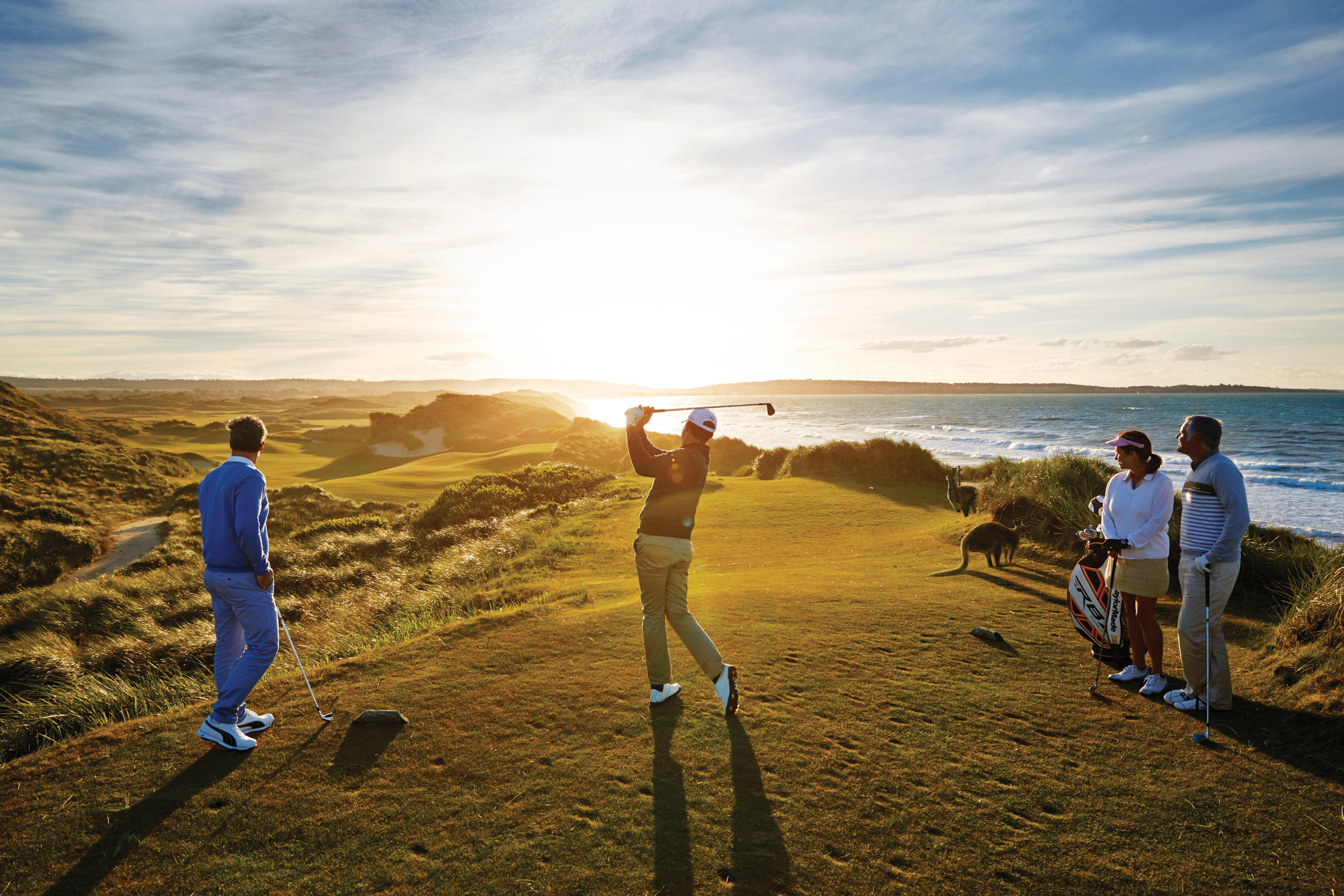 Lavorare In Australia Come Architetto great golf courses of australia - tourism australia