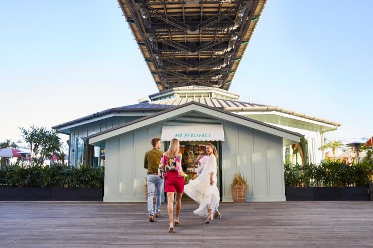 Friends going to Mr Percivals at Howard Smith Wharves in Brisbane © Jesse Smith Photographer