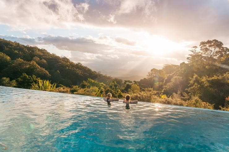 O'Reilly's Rainforest Retreat, Queensland © Tourism and Events Queensland