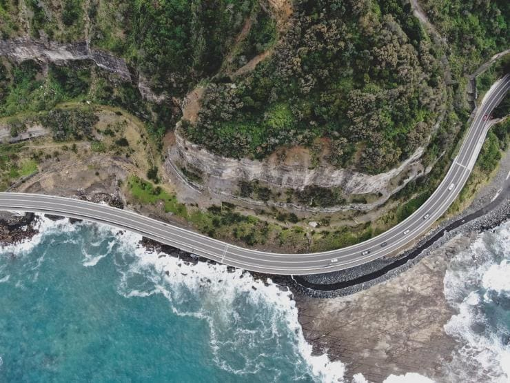 The Sea Cliff Bridge on the coast of New South Wales © Destination NSW